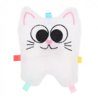 Развивающая игрушка-шуршалка «Котик» 10*15 см