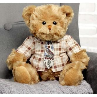 """Мягкая игрушка """"Медведь любимый учитель"""" 20см"""