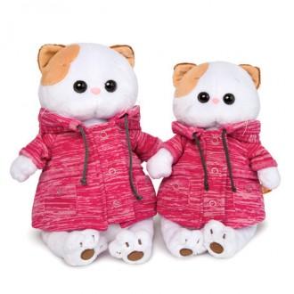 """Кошечка Ли-Ли в розовой куртке """"B&Co"""" (24 см)"""