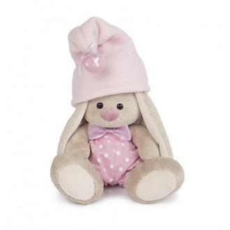 """Мягкая игрушка """"Зайка Ми - гномик в розовом"""" 15 см"""