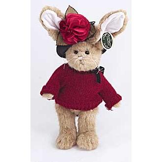 Зайка в вязаном свитере(36 см)