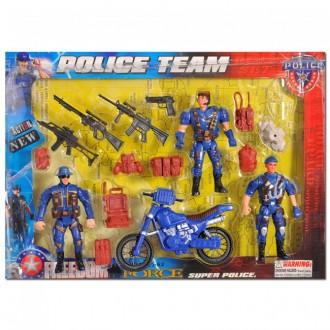 """Военный набор """"Police team"""""""