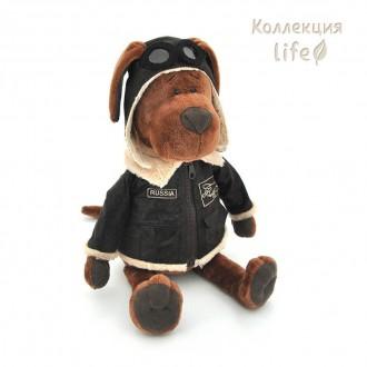 """Мягкая игрушка """"Пёс Барбоська Авиатор"""" 25 см"""