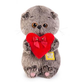 Басик Baby с красным сердечком (20 см)