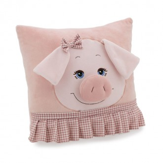 Подушка Свинка в юбке (37 см)