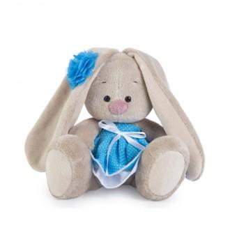 Зайка Ми в голубом сарафанчике (малыш)15 cм