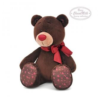 Медвежонок Мальчик CHOCO сидячий (25 см)
