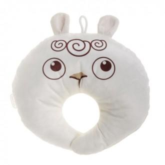 Подушка под шею детская «Овечка», цвет белый (под заказ)