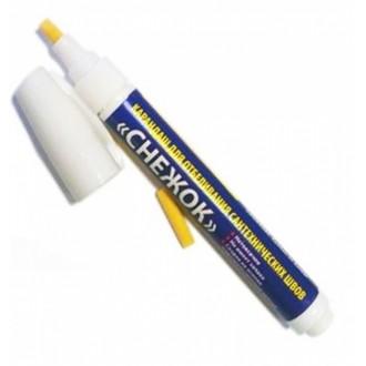 Карандаш для отбеливания сантехнических швов «СНЕЖОК»