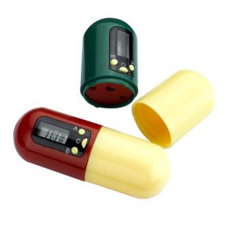 Контейнер для таблеток с таймером «НАПОМИНАТЕЛЬ»