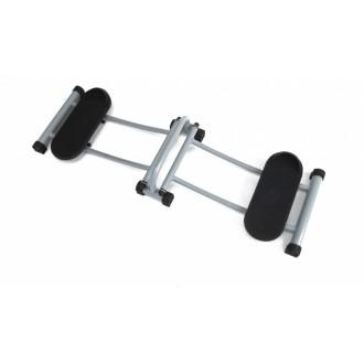 Тренажер для мышц ног с роликовыми платформами «СТРОЙНЫЕ НОГИ» компактный