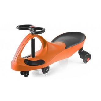 Машинка детская с полиуретановыми колесами оранжевая «БИБИКАР»