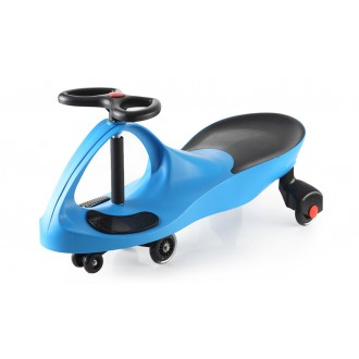 Машинка детская с полиуретановыми колесами синяя «БИБИКАР»