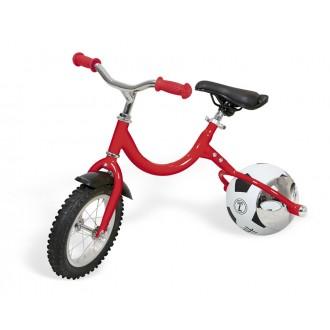 Беговел с колесом в виде мяча «ВЕЛОБОЛЛ» красный
