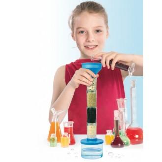 Набор для проведения опытов по очистке воды «ЮНЫЙ УЧЁНЫЙ»