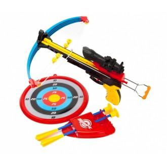 Арбалет детский со стрелами «ТОЧНЫЙ ВЫСТРЕЛ»