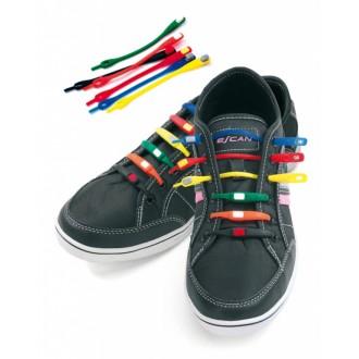 Шнурки силиконовые цветные