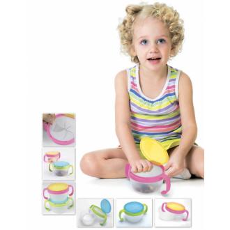 Контейнер для малышей «ПОЙМАЙ ПЕЧЕНЬЕ» розовый