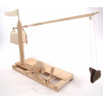 Конструктор из дерева «КАТАПУЛЬТА» Леонардо Да Винчи