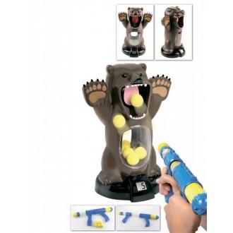 Игра с мишенью и компрессионным пистолетом «МЕДВЕДЬ»