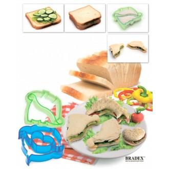 Форма-резак для бутербродов и выпечки «ДЕЛЬФИНЧИКИ»