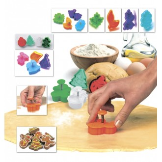Набор форм для печенья и мастики «НОВОГОДНЯЯ СКАЗКА»