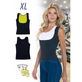Майка с открытой грудью для похудения «ХОТ ШЕЙПЕРС», размер XL
