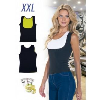 Майка с открытой грудью для похудения «ХОТ ШЕЙПЕРС», размер XXL