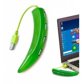 Разветвитель USB «ПЕРЧИК», зеленый