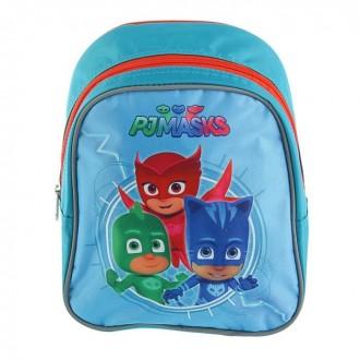 Рюкзачок детский Герои в масках 23*19 cм голубой