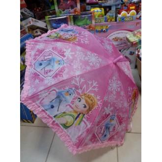 """Зонт детский """"Холодное сердце"""" розовый (75 см)"""