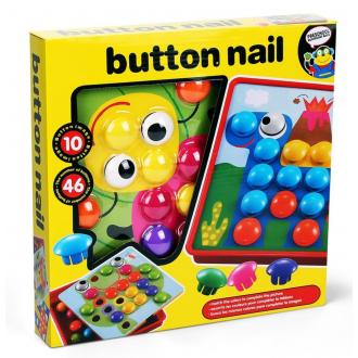 Детская «Мозаика» т.м. Амтошка (46 кнопочек, 10 картонных листов)