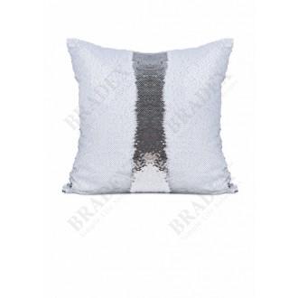 Подушка декоративная «РУСАЛКА»Magic Pillow цвет белый матовый/серебро