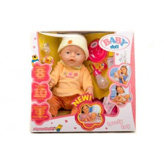 Кукла пупс Baby Doll аналог Baby Born 8 функций
