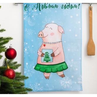 Полотенце кухонное «Этель» С Новым годом, мамуля! 34×58 ± 3 см, 100% хл, репс