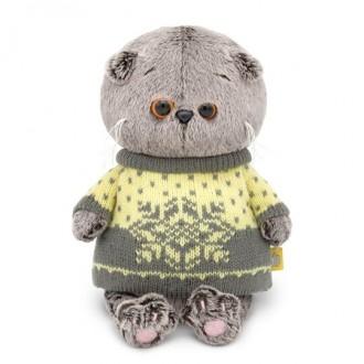Басик BABY в свитере (20 cм)