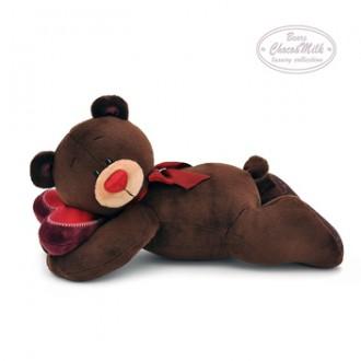 Медвежонок Мальчик CHOCO лежебока (20 см)