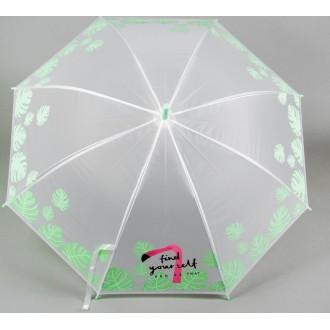 """Зонт детский """"Фламинго"""", зеленый (80 см)"""