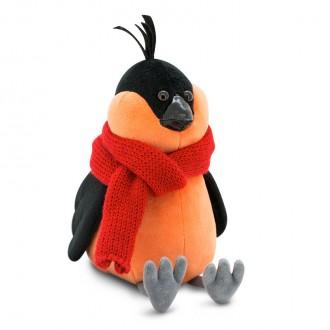 Игрушка мягкая Оранж Снегирь: Красный шарф
