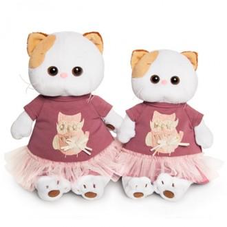 Кошечка Ли Ли в платье с совой (24 см)