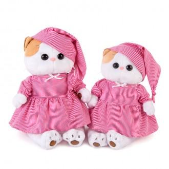 Кошечка ЛиЛи в розовой пижамке (24 см)
