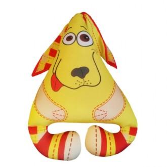 Игрушка Собака Ушастик Жёлтая (30 см)