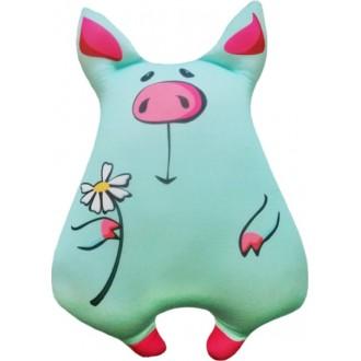 Игрушка-антистресс Свинка Милашка голубая (30 см)