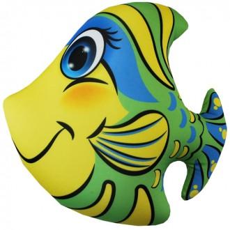 Игрушка-антистресс Рыбка зеленая (35 см)