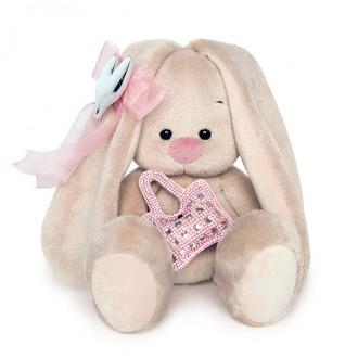 Зайка Ми с сумочкой и сердечком (15 см)