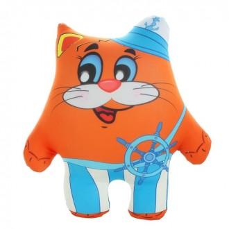 """Мягкая игрушка - антистресс """"Кот морячок"""" (20 см)"""