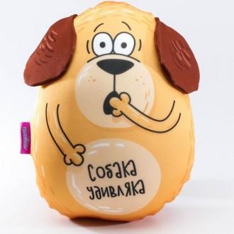 "Мягкая игрушка-антистресс ""Собака Удивляка"" (30 см)"