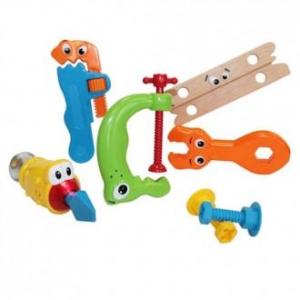 """Набор игрушек развивающих """"Юный плотник"""",со звуковым и световым эффектом"""