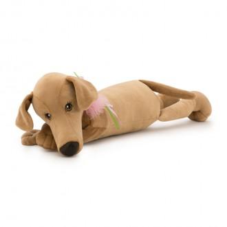 Собака Миа лежачая 35 см