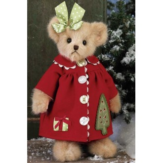 Мишка в красном платьице(36 см)